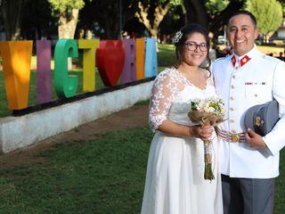 El matrimonio de Leslye y Álvaro