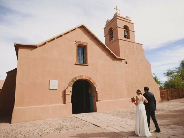 El matrimonio de Verónica y Luciano en San Pedro de Atacama, El Loa 4