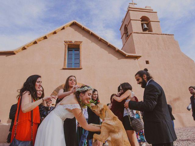 El matrimonio de Verónica y Luciano en San Pedro de Atacama, El Loa 1