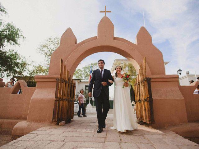 El matrimonio de Verónica y Luciano en San Pedro de Atacama, El Loa 13