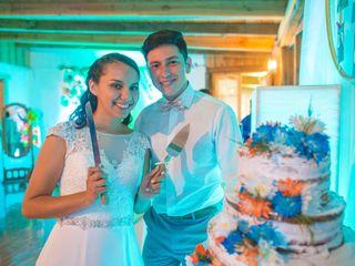 El matrimonio de Pilar y Ítalo