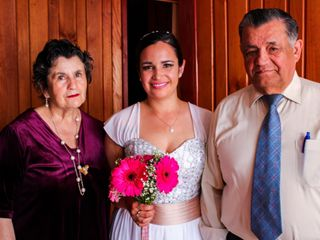 El matrimonio de Evelyn y Francisco 1