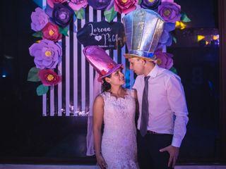 El matrimonio de Lorena y Pablo