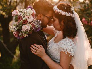 El matrimonio de Natalia y Gabriel
