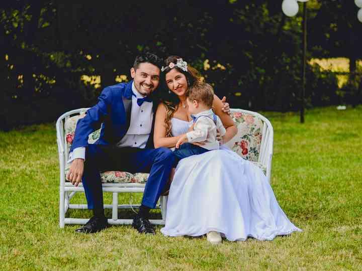 El matrimonio de Andrea  y Ignacio