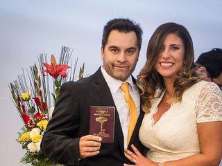 El matrimonio de Claudio  y Patty