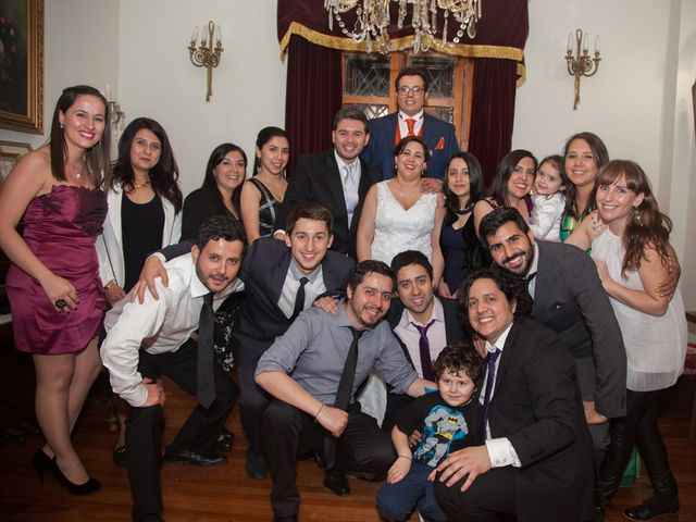 El matrimonio de Ricardo y Paula en Ñuñoa, Santiago 16