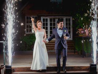 El matrimonio de Carlos y Nati