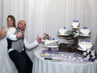 El matrimonio de Evelyn y Jorge