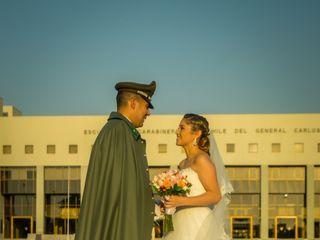El matrimonio de Daniela  y Diego  1