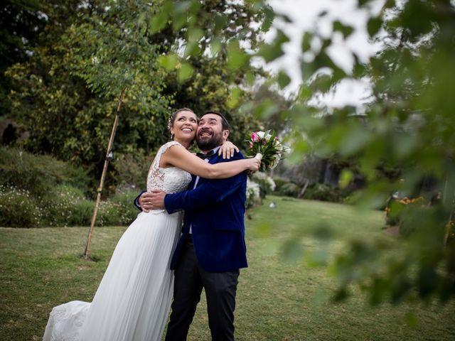 El matrimonio de Marcela y Boris