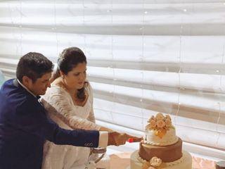 El matrimonio de Romina  y Michael