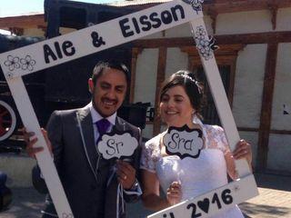 El matrimonio de Alejandra y Elsson