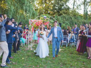 El matrimonio de Italo y Pilar
