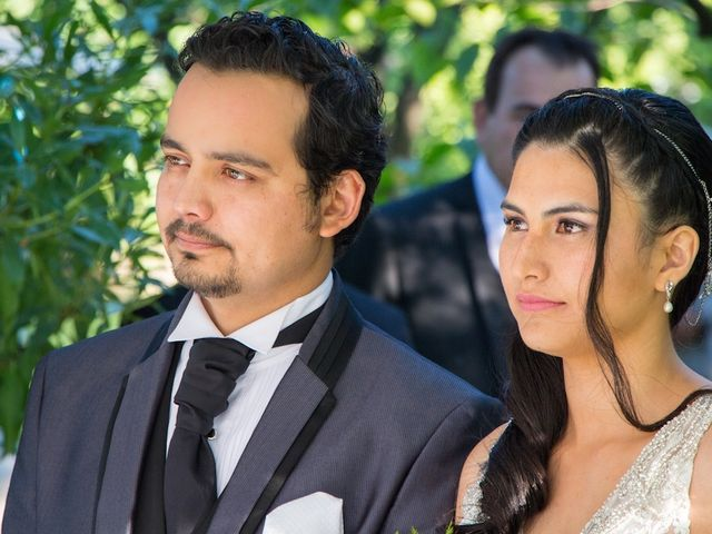 El matrimonio de Sebastián y Millaray en San Bernardo, Maipo 17