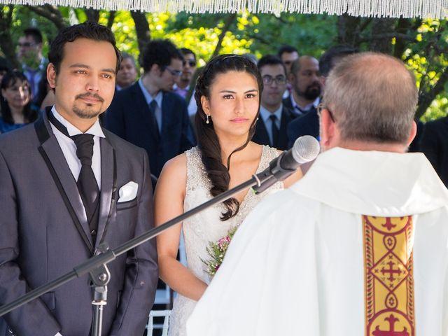 El matrimonio de Sebastián y Millaray en San Bernardo, Maipo 18