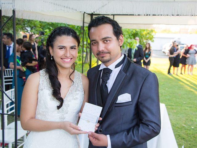 El matrimonio de Sebastián y Millaray en San Bernardo, Maipo 1