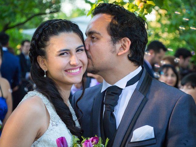 El matrimonio de Sebastián y Millaray en San Bernardo, Maipo 25