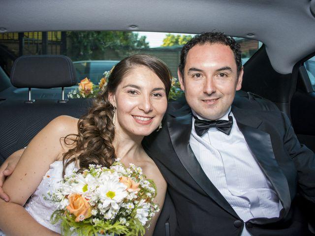 El matrimonio de Valeria y Franco