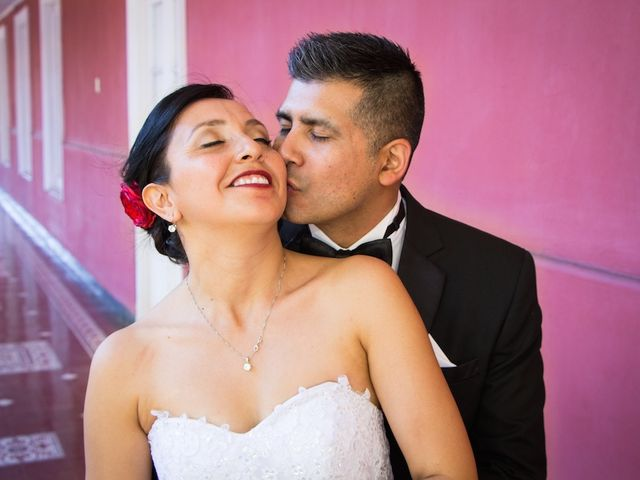 El matrimonio de Marisol y José