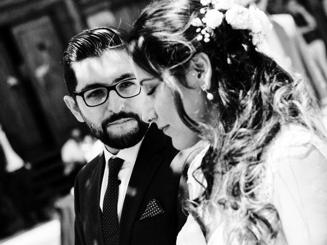 El matrimonio de Tamara y Salvador