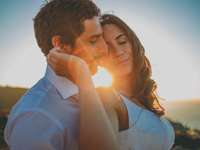 El matrimonio de Karen y Giorgio