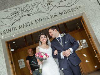El matrimonio de Daniela y Tomás
