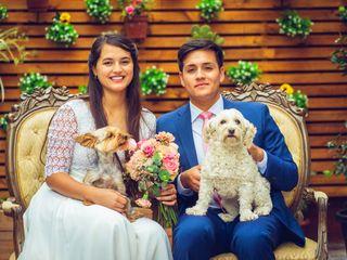 El matrimonio de Gabriel y Paula