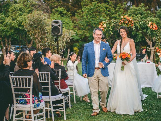 El matrimonio de Karen y Gonzalo