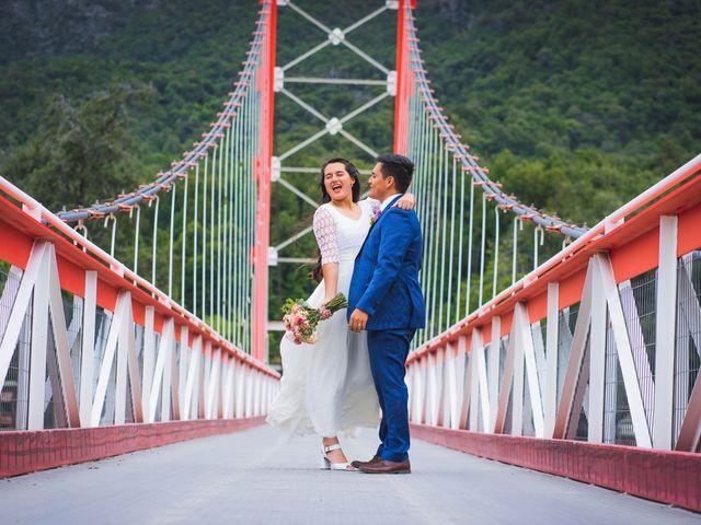 El matrimonio de Paula y Gabriel en San Fabián, Ñuble 12