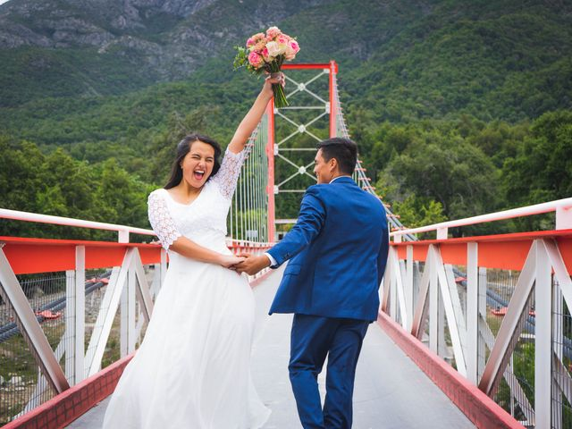 El matrimonio de Paula y Gabriel en San Fabián, Ñuble 16