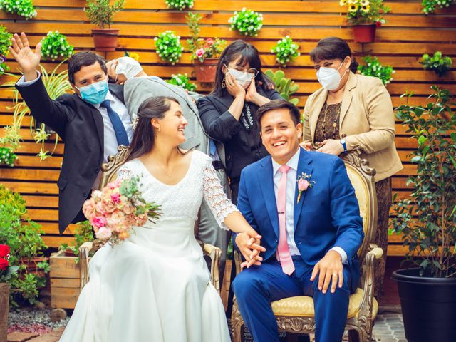 El matrimonio de Paula y Gabriel en San Fabián, Ñuble 17