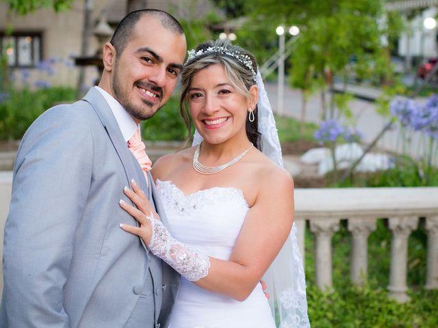 El matrimonio de Angela y Jorge