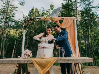 El matrimonio de Nicole y Tomás