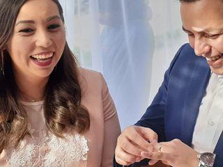 El matrimonio de David y Camila