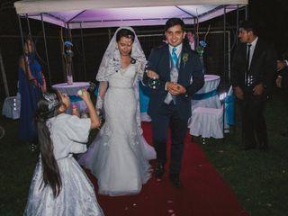 El matrimonio de Alexandra y Pierre