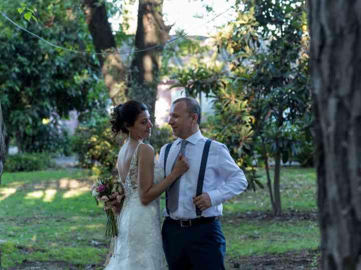 El matrimonio de Alba y Fransual