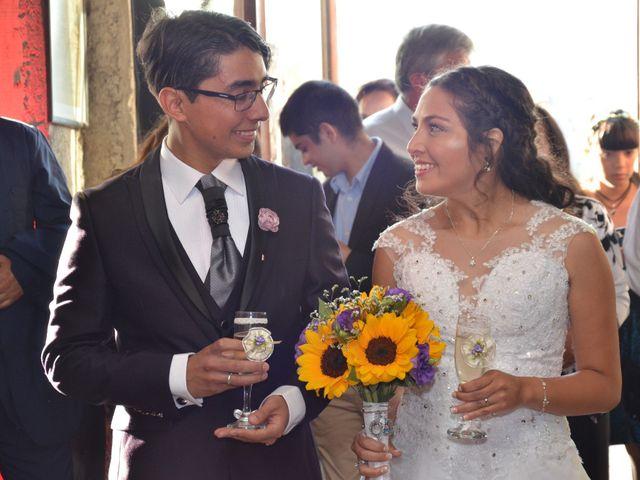 El matrimonio de Mauricio Reyna Jeldes y Rebeca Ahumada Rojas
