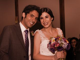 El matrimonio de Daniela y Francisco 1