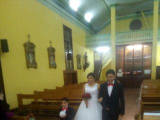 El matrimonio de Johanna y Óscar 1