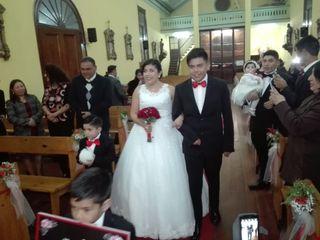 El matrimonio de Johanna y Óscar 2