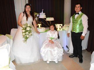 El matrimonio de Elizabeth y Javier