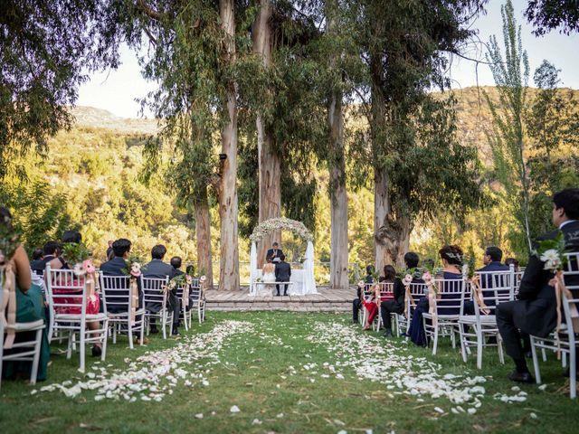 El matrimonio de Mario y María José en San José de Maipo, Cordillera 9