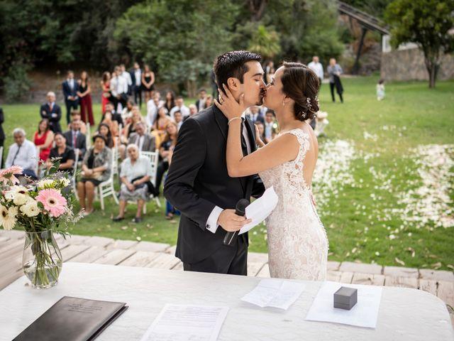 El matrimonio de Mario y María José en San José de Maipo, Cordillera 13