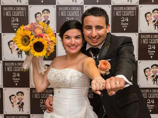 El matrimonio de Guillermo y Constanza