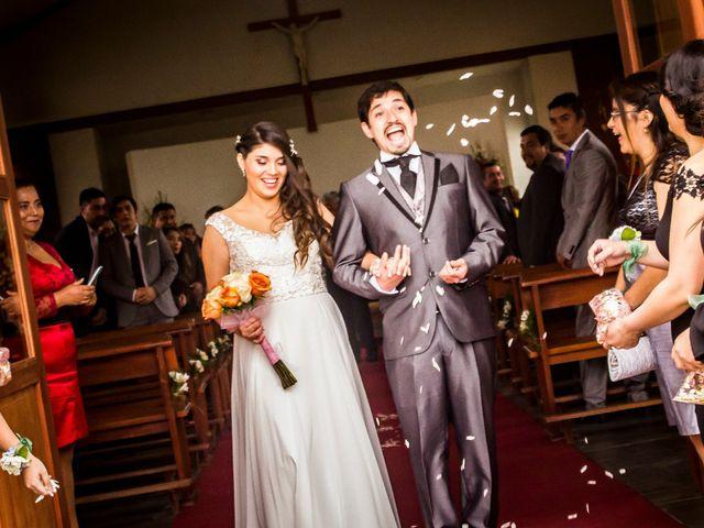 El matrimonio de Constanza y Jorge