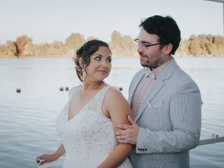 El matrimonio de Francisco y Evelyn 1