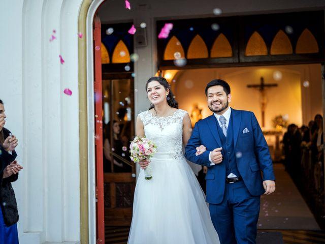 El matrimonio de Maral y Cristian