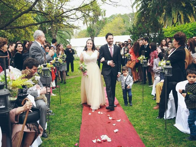 El matrimonio de Rafael y Ximena en El Monte, Talagante 8