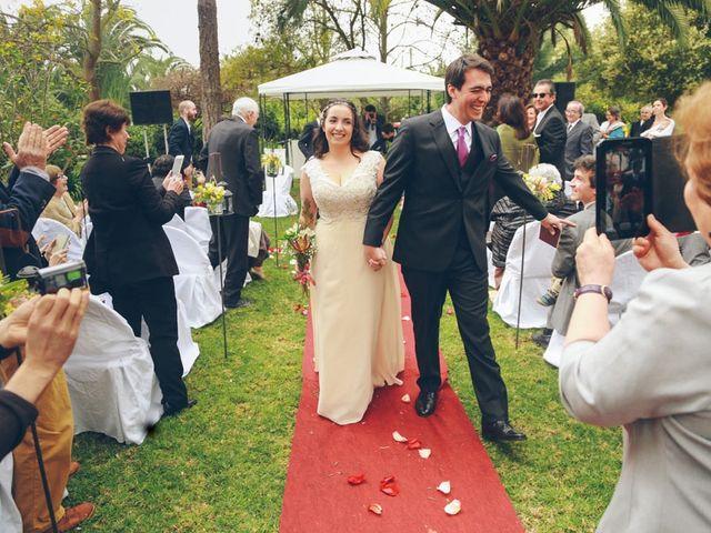 El matrimonio de Rafael y Ximena en El Monte, Talagante 14